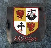 Family Coat Of Arms Art - McIntyre Coat of Arms by Barbara McDevitt
