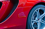 Race Car Photo Prints - McLaren Wheel Print by Jill Reger