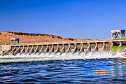 S Landscape Photography Prints - McNary Dam Print by Robert Bales