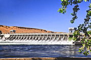 Hydroelectric Prints - McNary  Hydroelectric Dam Print by Robert Bales