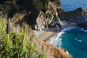 Big Sur Ca Originals - McWay Falls 03 by Dan Hartford