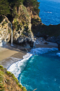 Big Sur Ca Originals - McWay Falls Julia Pfeiffer Bruns State Park CA by Dan Hartford