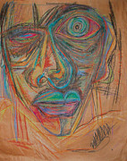 Depression Pastels - Me by Mike Manzi