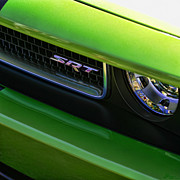 Challenger Digital Art - Mean Green SRT by Gordon Dean II