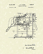 Mechanical Drawings - Mechanical Horse 1960 Patent Art by Prior Art Design