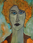 Portraits Paintings - Medea  by Oscar Penalber