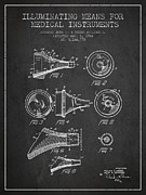 Medical Instrument Patent From 1964 - Dark Print by Aged Pixel