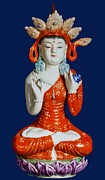 Medicine Buddha 2 Print by Lanjee Chee