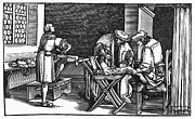 Consolation Metal Prints - Medicine: Surgery, 1537 Metal Print by Granger