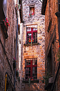Wall Photos - Medieval architecture by Elena Elisseeva