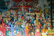 Banquet Paintings - Medieval Banquet by Mountain Dreams