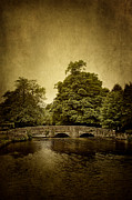 Atmospheric Prints - Medieval bridge  Print by Mohamad Itani