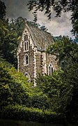 Vinery Photos - Medieval castle chapel at the Moselle by Hugo Bussen