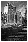 Castelo Metal Prints - Medieval castle keep Metal Print by Jose Elias - Sofia Pereira