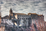 Medieval City Photos - Medieval City by Leonardo Marangi