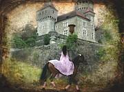 Barbara Orenya - Medieval horse riding - The Lady