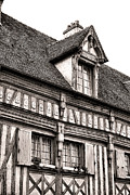 Ages Prints - Medieval House Print by Olivier Le Queinec