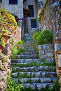 Medieval Saint Paul De Vence 1 Print by David Smith