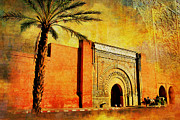 Rabat Paintings - Medina of Marakkesh by Catf