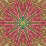 Kaleidoscope Digital Art - Meditation by Deborah Benoit