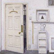 Pitcher Paintings - Meditation on a Door I by Charles E Hardaker