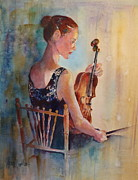 Concert Painting Originals - Meditation by Sherri Crabtree
