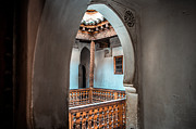 Moroccan Photos - Medrassa in Marrakech by Sabino Parente