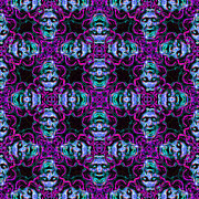 Medusa Abstract 20130131m180 Print by Wingsdomain Art and Photography