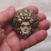 Beach Jewelry Originals - Medusa Cameo by Roger Swezey