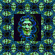 Medusa Metal Prints - Medusas Window 20130131p90 Metal Print by Wingsdomain Art and Photography