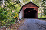 Wood Bridges Metal Prints - Meems Bottom Metal Print by JC Findley