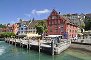 Meersburg Lake Constance Germany Print by Matthias Hauser