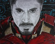 Avengers Drawing Drawings - Meet Tony by S G Williams