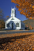 Town Square Prints - Meeting house Print by Christian Heeb