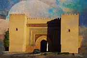 Rabat Paintings - Meknes by Catf