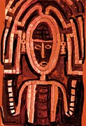 Melanesian Icon Print by Anne-Elizabeth Whiteway