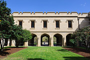 The Quadrangle Framed Prints - Melbourne University - Old Quad Framed Print by David Hill