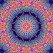 Kaleidoscopic Posters - Melissa Poster by Wendy J St Christopher