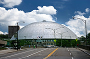Mellon Arena Prints - Mellon Arena Pittsburgh PA Print by Amy Cicconi