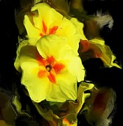 Botanical Fantasy Series - Mellow Yellow II by David Lane