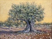 Jerusalem Paintings - Mellow Yellow by Miki Karni