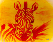 Scott Dokey - Mellow Yellow Zebra