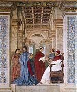 Melozzo Da Forli 1438-1494. Sixtus Iv Print by Everett