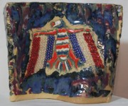 Patriotic Ceramics - Melting Pot by Susan Perry