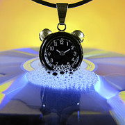 Clock Prints - Melting Time Print by Vesna Viden