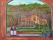 Grape Vineyards Originals - Melville Magic II by Mikki Alhart