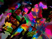 Art Glass Tapestries - Textiles - Membrane Between Dimensions by David Rogers