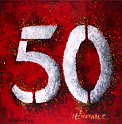 Number Originals - Memorable 50 by Michelle Boudreaux