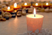Remembrance Photos - Memorial Candles by Olivier Le Queinec