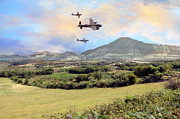 Spitfire Photos - Memorial Flyby by Jason Green